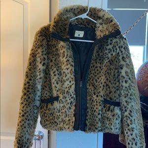 Jackets & Blazers - Animal print faux jacket